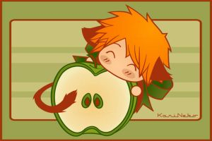 Yummy...APPLE by KariNeko