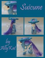 MLP: Suicune by allykat