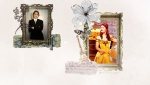 Rumbelle Wallpaper by Brown-Eyed-Rocker