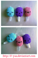 Popsicles by TokiCrafts
