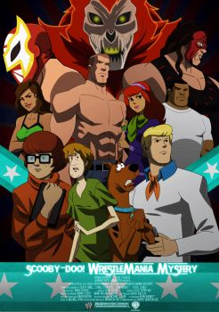 Scooby-Doo Wrestlemania Mystery by MatthewB3