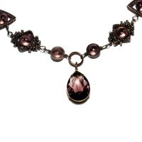 Steampunk Victorian Necklace by CatherinetteRings