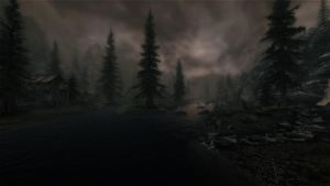 Gloomy Riverwood by lupusmagus
