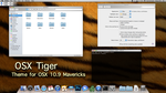 Brushed Tiger theme for Mavericks by rhubarb-leaf