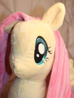 Fluttershy plushie Face by StarDragon102