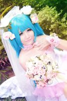 Vocaloid Wedding - Miku by Xeno-Photography