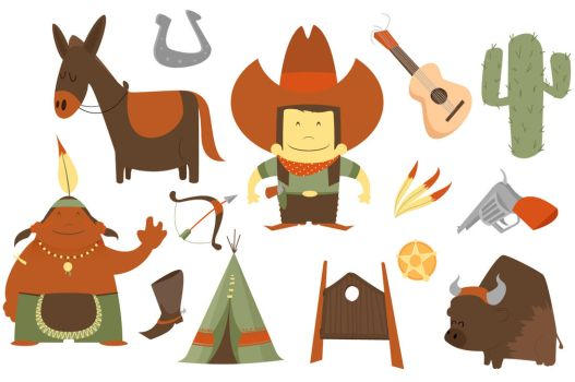 cowboy western pack by PicturesOfPelicans