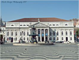 National Theatre D Maria II Lisbon by AraujaPhoto
