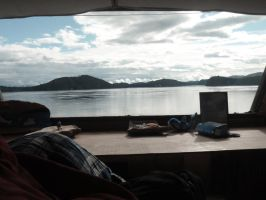 OrcaLab bunk view by wickedlovelyfaery