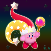 Flare Beam Kirby by water-kirby