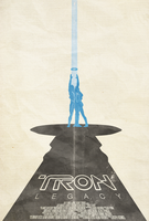 Tron: Legacy - Poster by disgorgeapocalypse