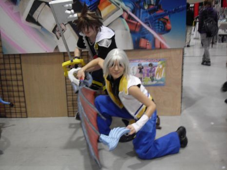 Riku and Sora 1 by Little-Kitsune2