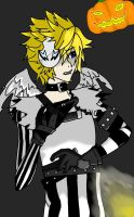 Halloween Town Roxas by NotMeant-ToExist