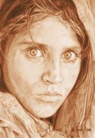 Sharbat Gula by ArturoJMorales