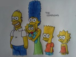 The Simpsons by Nicktoons4ever