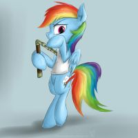 Rainbow Dash. by rule1of1coldfire