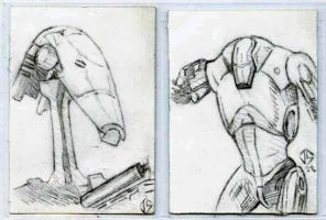 Sketch Cards: Look Sir, Droids by JasonShoemaker