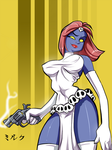Mystique Commission by Mordor-in-love