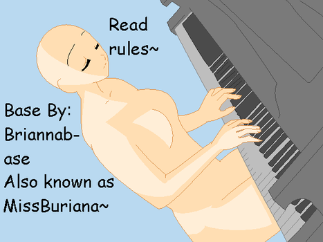 Piano base: 1 by Briannabase