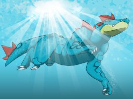 feraligatr submission by Wonksbrother