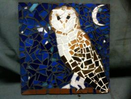Owl Mosaic by scynthias