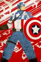 Movie Captain America by hilarion
