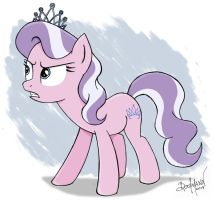 Annoyed Diamond by Berlioz-II