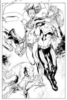 Teen Titans Issue 25 Page 22 by aethibert