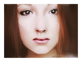 Portrait Girl by MrNat