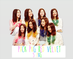 Pack PNG #117: Red Velvet by jimikwon2518
