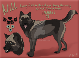 Nill - OC Character *SOLD* by Esaki