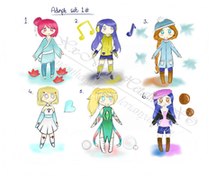 *Closed* Chibi Adopts --SB 15 POINTS-- by Xx-NeonHetalia-xX