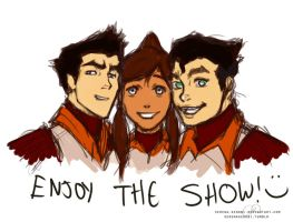 Legend of Korra Premiering NOW! by ChristyTortland