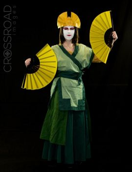 Avatar Kyoshi Photoshoot 1 by LivingLifeInACartoon