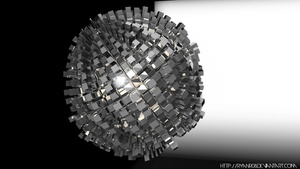 Extreme 3D Abstract Sphere by ryanr08