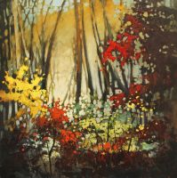 Color In The Woods by artistwilder