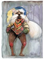 Sir Didymus by TheInklingGirl