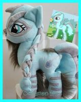 mlp plushie commission NOISOME MIST by CINNAMON-STITCH
