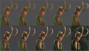 Loki step-by-step by marurenai