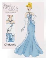 Princess Fashion Collection - Cinderella by HigSousa