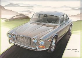 '71 Jaguar XJ6 Series One by DominikScherrer