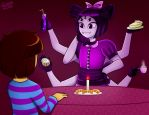 Muffet's Cafe by Sweatshirtmaster