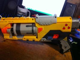 little machintosh nerf gun by biohazardben