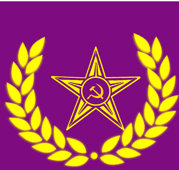 Flag of the Peoples Republic of Tomowa by rockowol