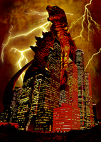 The Return of Godzilla (2014) by Awesomeness360