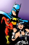 New JLA pinup color by scootah91