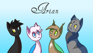 Arian by ColacatintheHat