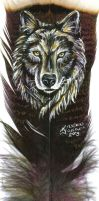 Wolf Feather by dittin03