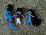Alladdin Jasmine and Genie string doll by Brittastic174