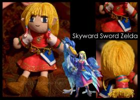 Skyward Sword Zelda Plushie by Xandyr